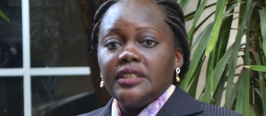 File photo: Lily Albino Akol, deputy minister of information (Radio Tamazuj)
