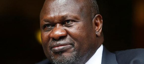 South Sudan opposition leader Riek Machar during an interview with Reuters in Rome, Italy, on April 12, 2019. PHOTO | REUTERS