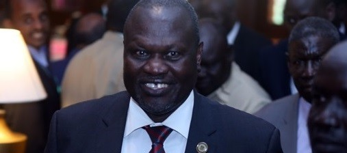 File photo: SPLM-IO leader Riek Machar