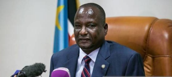 File photo: South Sudan's First Vice President Taban Deng Gai