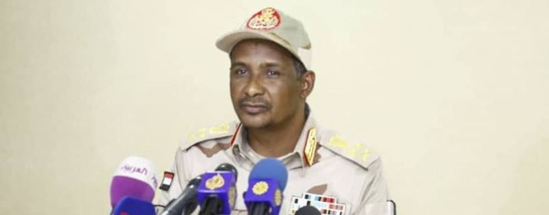 File photo: Gen. Mohamed Hamdan Daglo, Deputy Head of the Transitional Sovereign Council