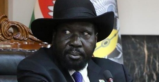 South Sudan President Salva Kiir (file photo)
