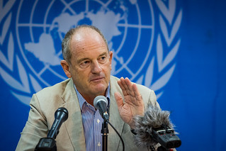 Outgoing UNMISS chief David Shearer