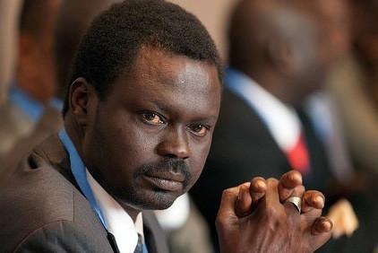 Mini Arko Minawi, leader of the Sudan Liberation Movement (SLM)