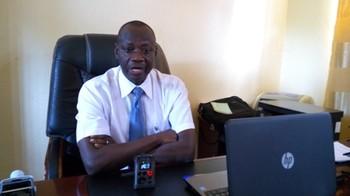 File photo: Minister of finance Kenyi Abiyaza