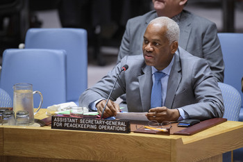 File photo:UN Assistant Secretary-General for Peacekeeping Operations  El Ghassim Wane