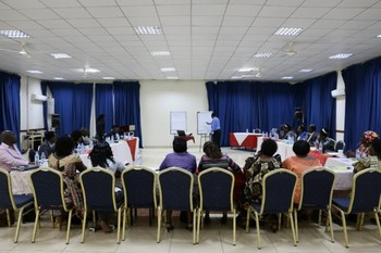 File photo: Civil society meets to form a transitional justice working group. (UNDP)