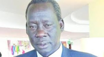 File photo: foreign minister Deng Alor Kuol