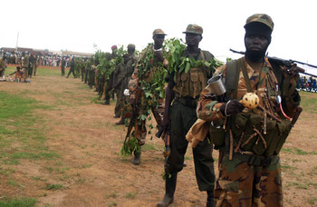 File photo: SPLA celebration held in Wau in 2012 (Gurtong/James Deng Dimo)