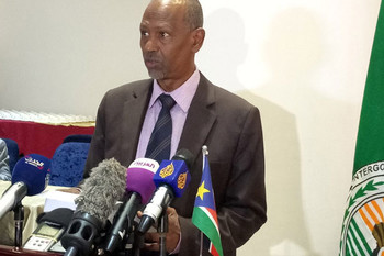 Photo: IGAD Special Envoy for South Sudan Amb Ismail Wais [Gurtong]