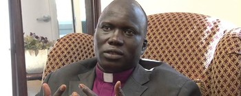 File photo: The Anglican Bishop of Aweil Diocese Abraham Yel Nhial