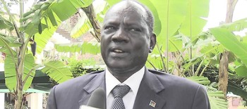 File photo: Information Minister Michael Makuei
