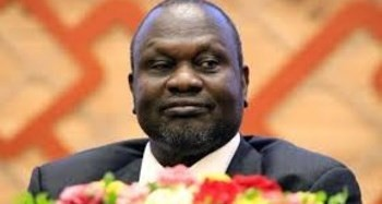 South Sudanese opposition leader Riek Machar attends the signing in Khartoum, June 27, 2018. REUTERS/Mohamed Nureldin Abdallah/File Photo