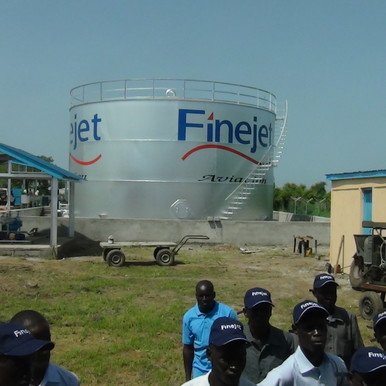 Finejet opens fuel deport at Bor airstrip