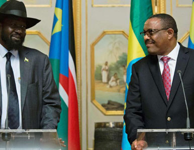 South Sudan's cabinet approves defense cooperation deal with Ethiopia