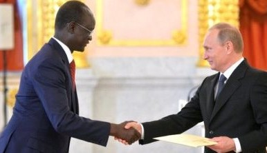 South Sudan ambassador to Russia unexpectedly resigns