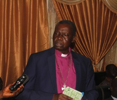 Yei ECS Bishop urges state leaders to promote peace
