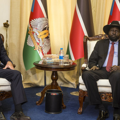 بعثة الأمم المتحدة في جنوب السودان تدعو للحفاظ على السلام