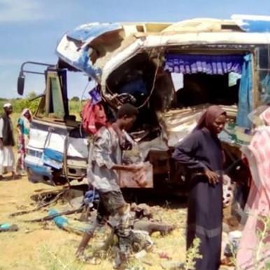 وفاة 21 وجرح 29 إثر حادث مروري بولاية شمال كردفان السودانية