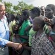 File photo: Secretary-General António Guterres visits the Imvepi refugee settlement Arua district, northern Uganda. (UN Photo/Mark Garten)