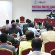 File photo: A political parties leadership forum to endorse the parties draft bill, October 26, 2011.
