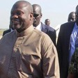 South Sudan opposition leader Riek Machar arriving at Juba airport in South Sudan, October 31, 2018. /REUTERS
