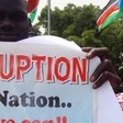 Photo: Members of the South Sudan Civil Society Alliance (SSCSA) during a peaceful demonstration calling for the prosecution of corrupt government officials, 13 June 2013 (Gurtong)